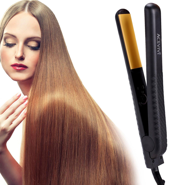 acevivi plancha de pelo eléctrico (Termostato revestimiento ...