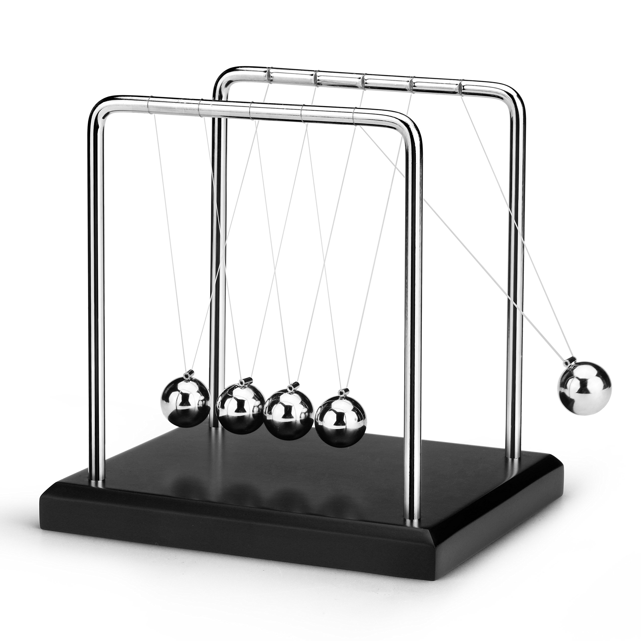 ScienceGeek Classic Newton's Cradle Balance Balls Desk Toy Home Decoration by ScienceGeek