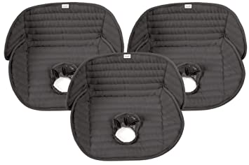 Amazon.com: Summer Infant Deluxe Piddle Pad, Black, 3 Count: Baby