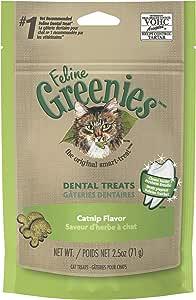 Greenies Catnip Flavor Dental Cat Treat, Adult, 71g