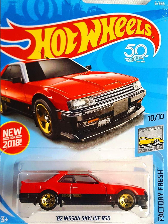 HOT WHEELS 2018 Factory Fresh */'82 NISSAN SKYLINE R30* red