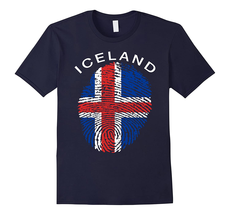 Iceland Flag Shirt-BN