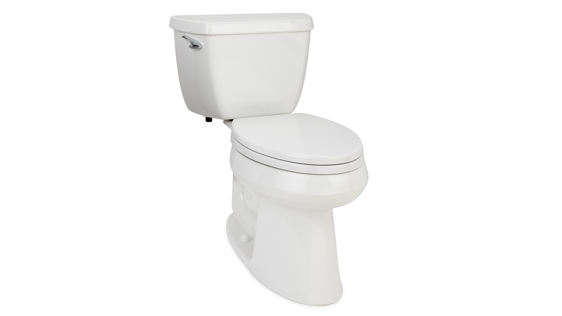 Bath Royale Premium Round Toilet Seat With Cover White