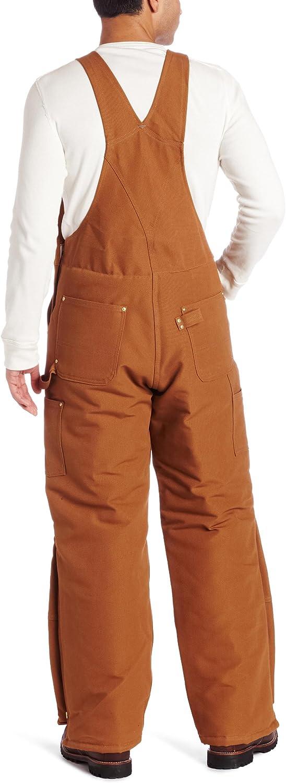 Carhartt Mens Arctic Quilt Lined Duck Bib Overalls R03