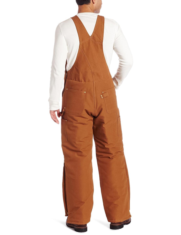 Amazon.com: Carhartt Men's Quilt Lined Duck Bib Overalls R02 ... : carhartt quilt lined duck bib overalls - Adamdwight.com