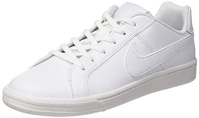online retailer 3fb1a 55838 Nike White   White, Chaussures de Sport Garçon, Blanc (White 102),