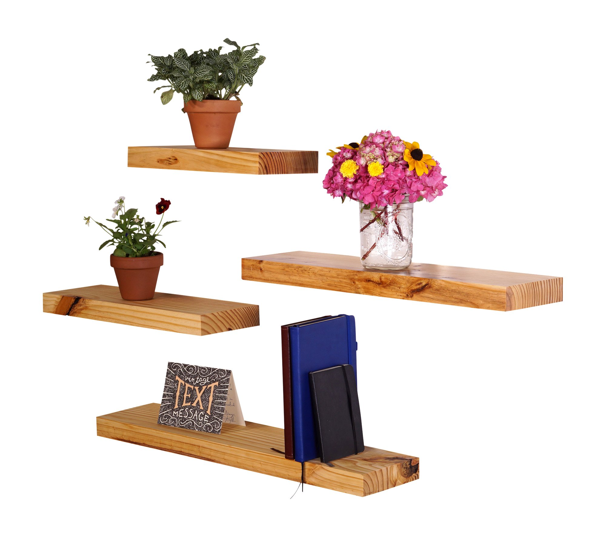 """DAKODA LOVE Clean Edge Floating Shelves 
