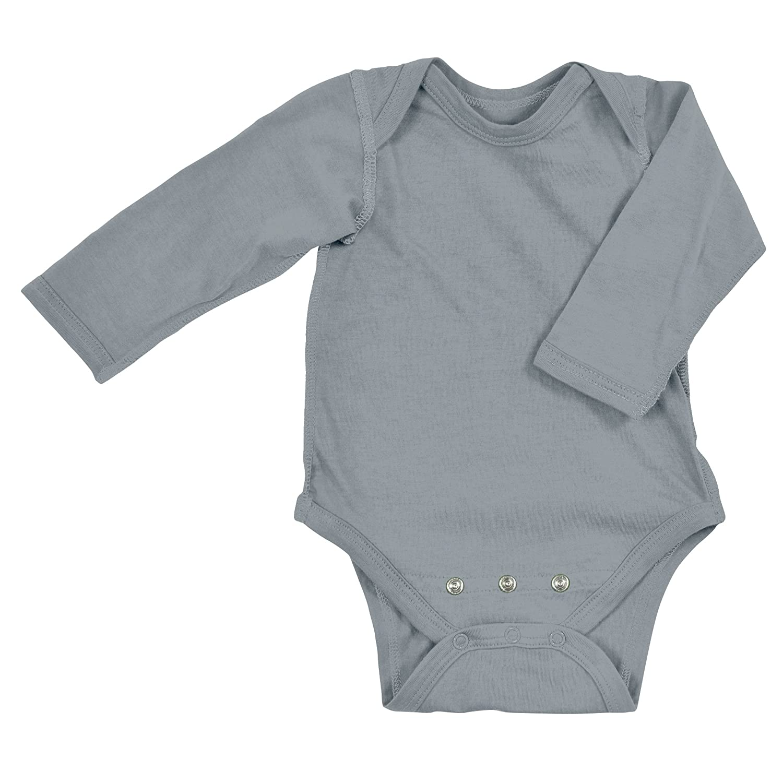 467a57d24500 i play. Organic Cotton Long Sleeve Bodysuit (6-12 Months
