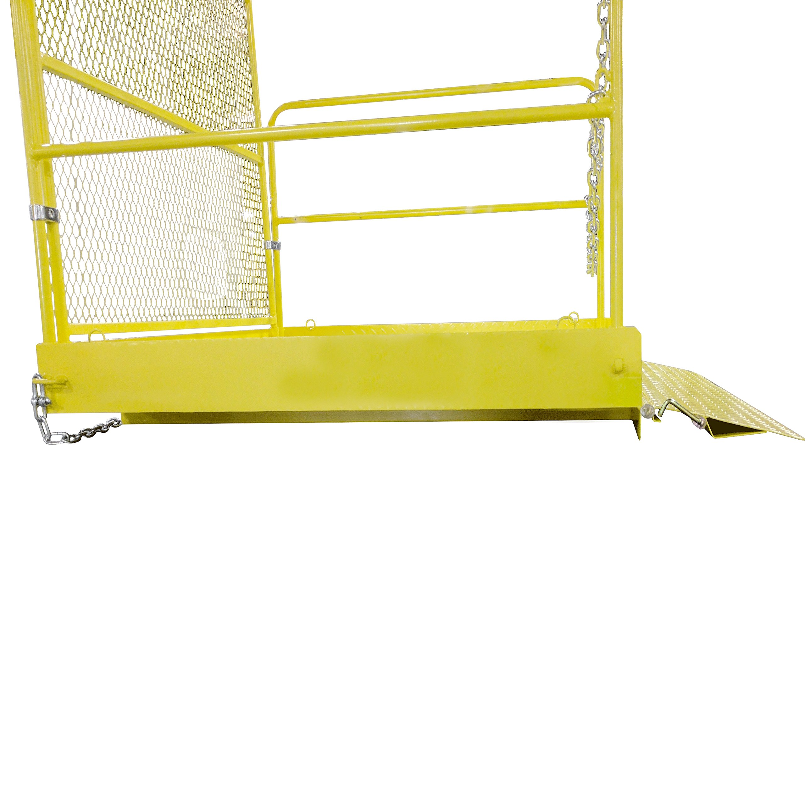 54'' x 54'' Loading Work Platform w/ Handrails - 2,000 LB Capacity by Titan Attachments (Image #4)