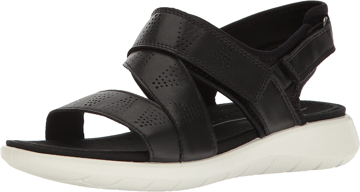 ECCO Women's Soft 5 Cross Strap Sandal