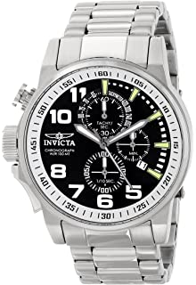 Invicta Mens 14955 I-Force Silver-Tone Stainless Steel Watch