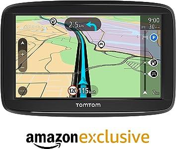 TomTom Navigatore Satellitare per Auto Start 52 Lite, con Mappe Europa, Supporto Reversibile Integrato [Amazon Exclusive], 5 Pollici