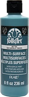 product image for FolkArt Multi-Surface Paint (8 oz), , Teal