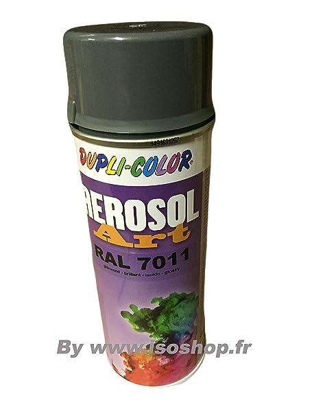 Dupli Paint Spray Color Color Gray Cast Iron Ral 7011 Spray 400ml