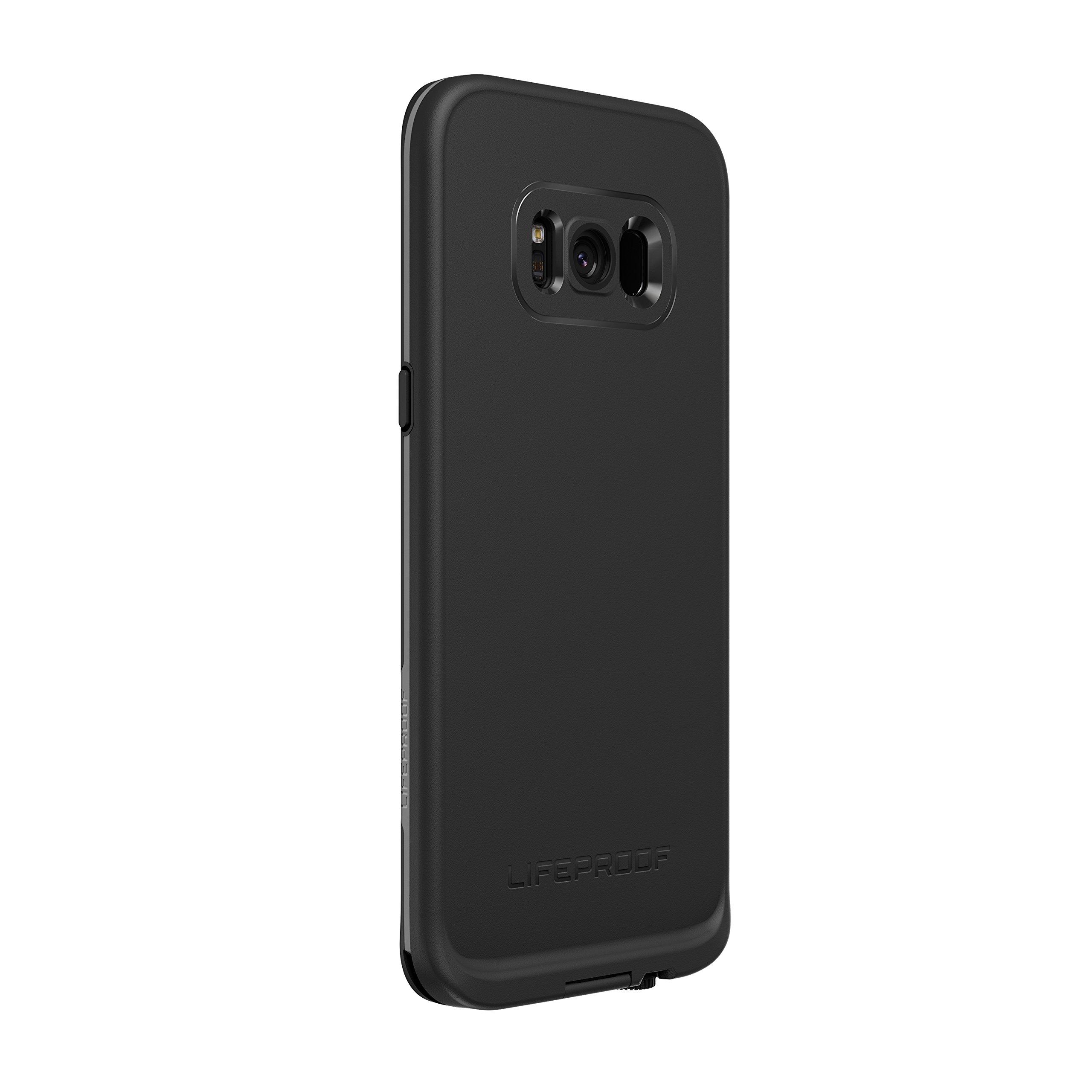 Lifeproof FRĒ SERIES Waterproof Case for Samsung Galaxy S8 (ONLY) - Retail Packaging - ASPHALT (BLACK/DARK GREY) by LifeProof (Image #5)