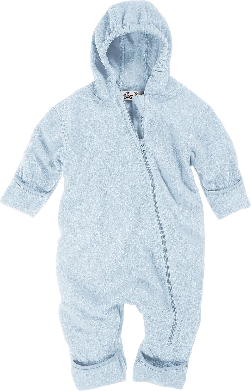 17 bleu Blau Playshoes Baby-Unisex Fleece Overall 74