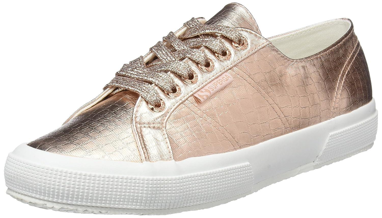 Superga 2750 Cotmetembos, Zapatillas para Mujer 37 EU|Rosa (Rose Gold S916)