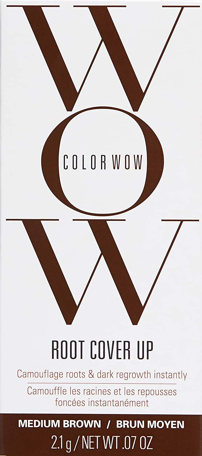 Amazon.com: COLOR WOW Root Cover Up Medium Brown, 0.07 oz: Color ...
