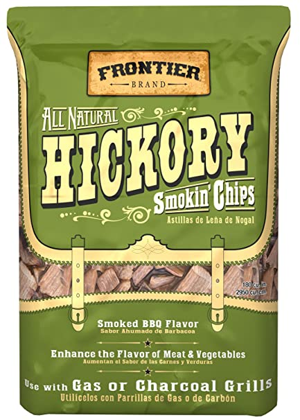Frontier WHC02 Hickory All Natural Smokin Chips
