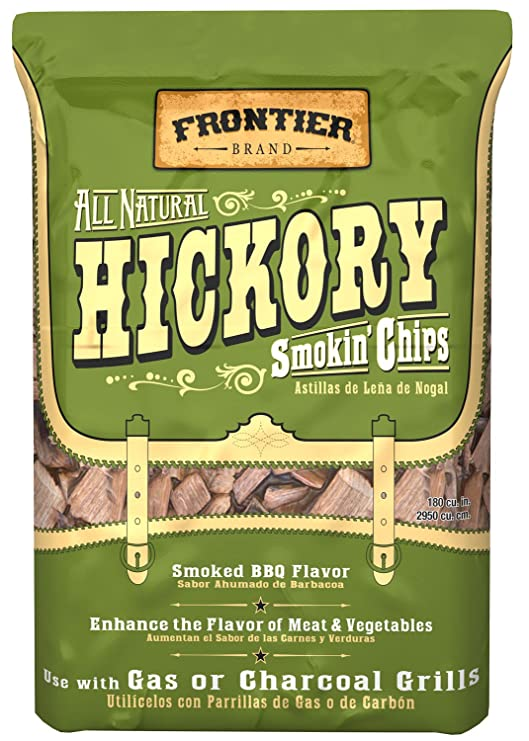 Amazon.com : Frontier WHC02 Hickory All Natural Smokin Chips : Smoker Chips : Garden & Outdoor