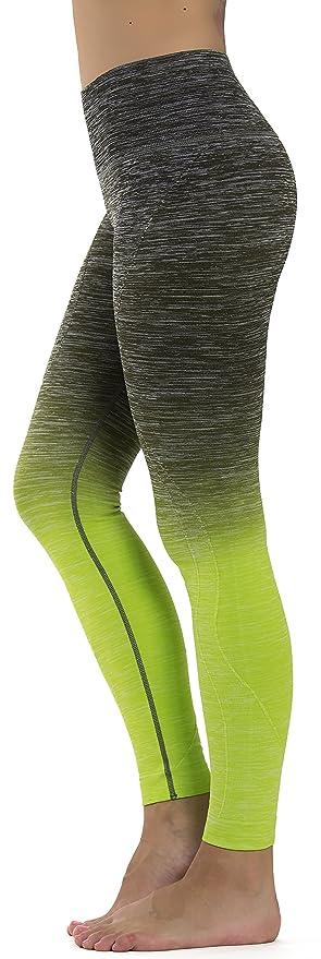 XXXL Prolific Health Fitness Womens Yoga Pants Leggings XS Large, Ombre Gray//Pink