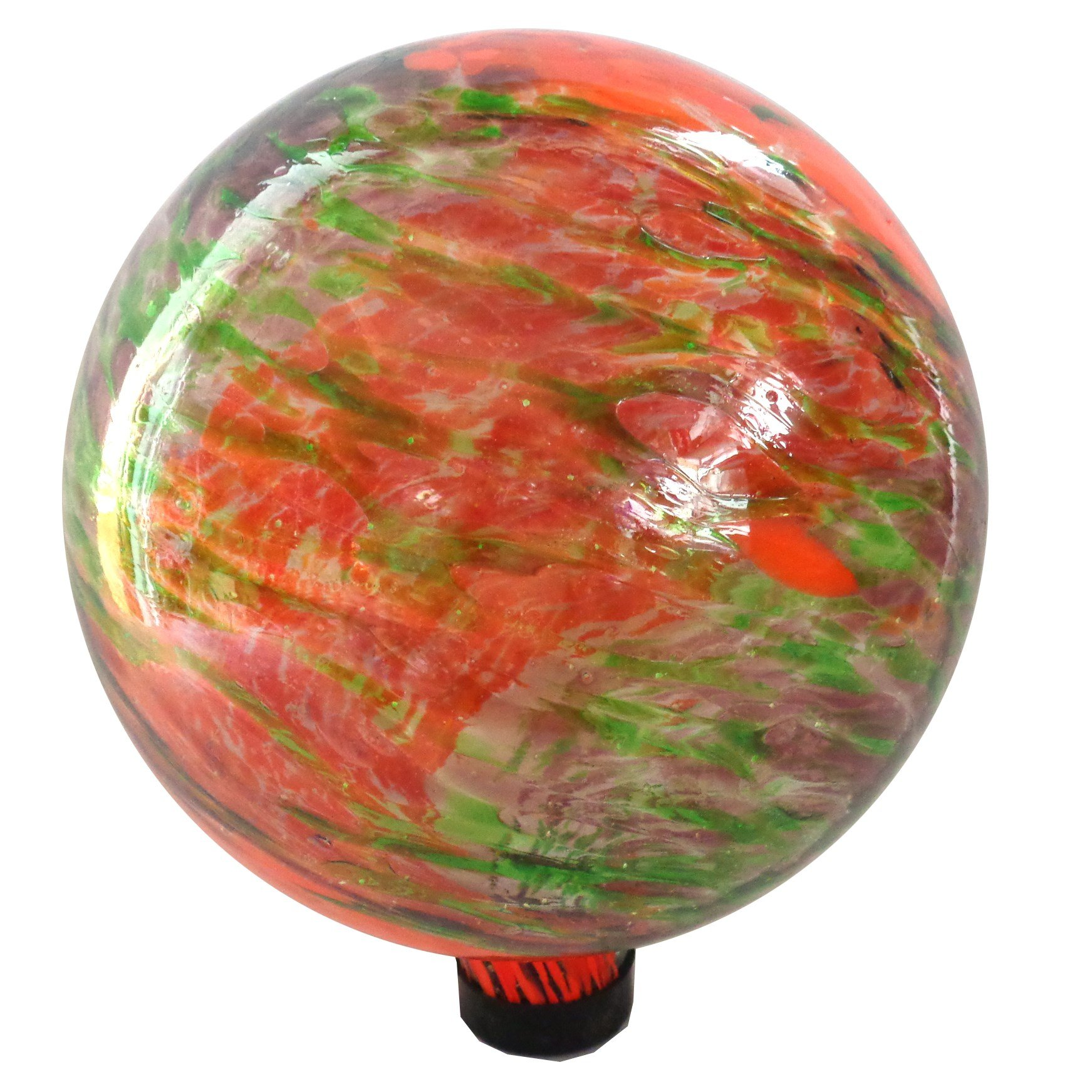 Gardener Select 16BFG03 Red Glow N Dark Globe, 10''