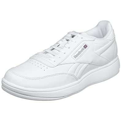 4bc59c811 Reebok Men's Classic Ace Tennis Sneaker, White/Sheer Grey, 10M: Buy ...