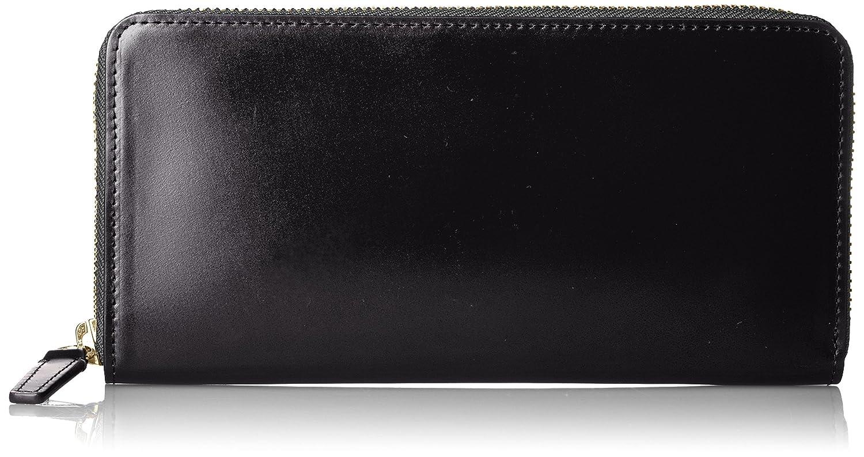 [ピーアイディー] 長財布 ヴァスト コードバン 25245 B01EIT4EO6 ブラック ブラック