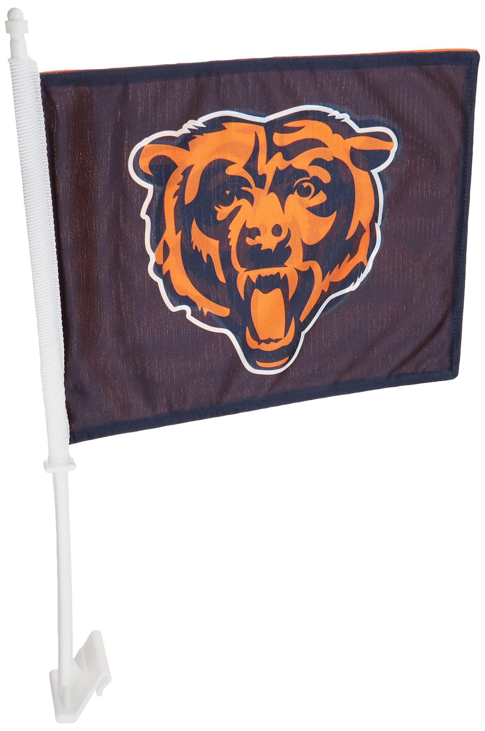 Fremont Die NFL Chicago Bears Home & Away Car Flag