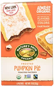 Natures Path Toaster Pastry Pumpkin Pie Frosted, 11 oz