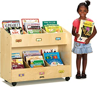 product image for Jonti-Craft 5368JC Mobile 6-Section Book Organizer