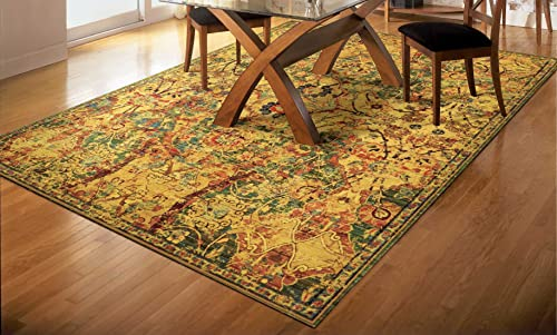 Nourison Timeless Olive Rectangle Area Rug