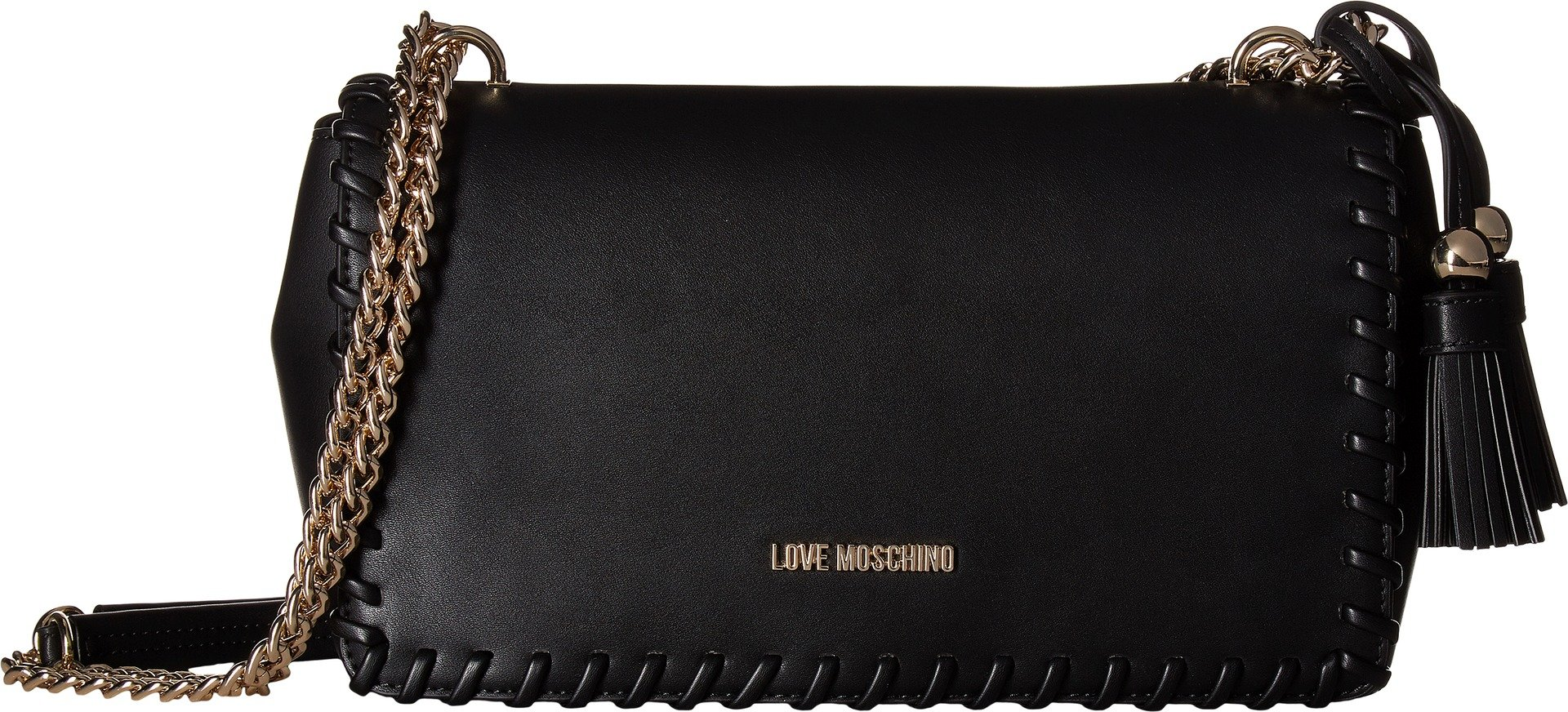 LOVE Moschino Women's Tassel Rectangle Bag Black One Size