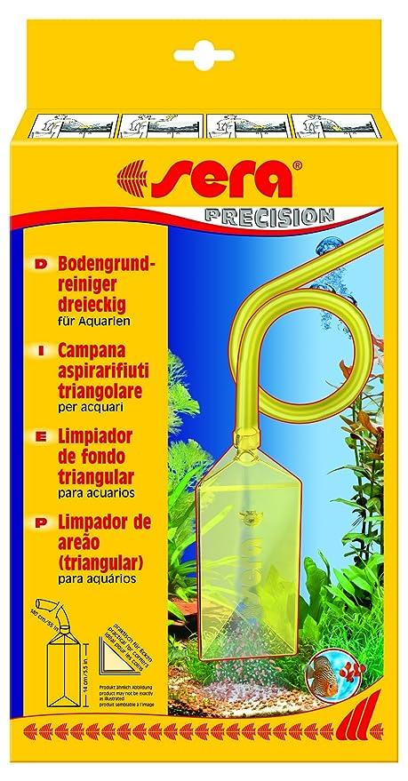 Sera 08565 limpiador de suelos (triangular) limpiador de suelos retire Fácil mulm de la