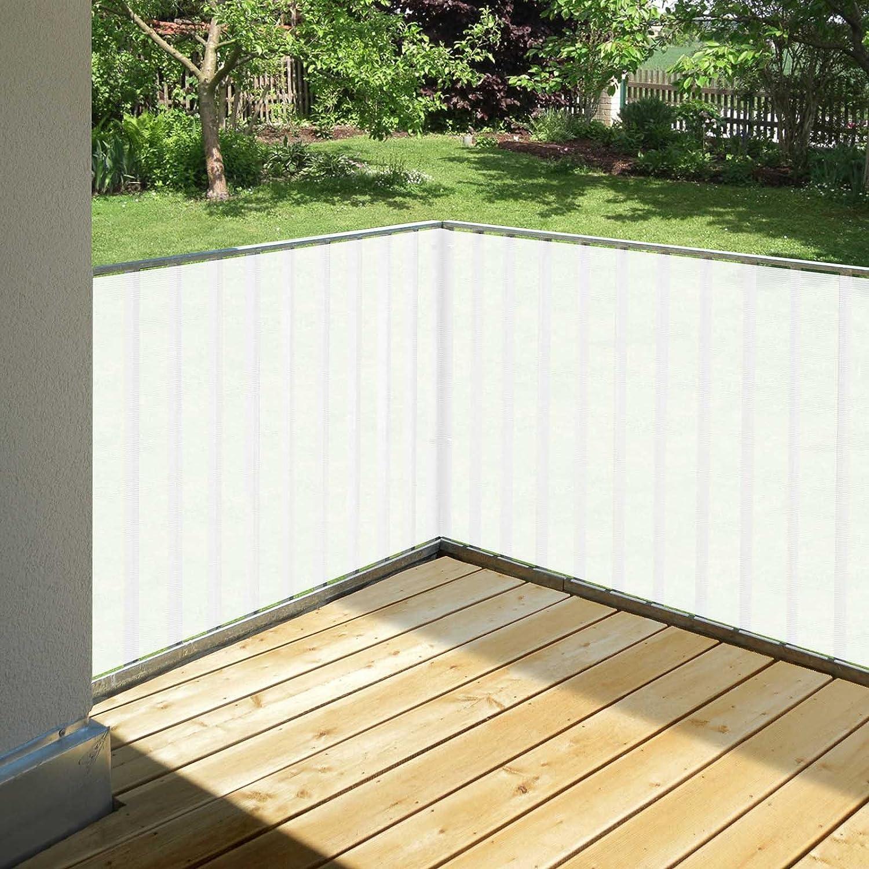 Balkon Sichtschutz 0,90 x 5 Meter Terracotta
