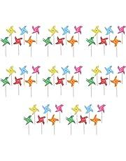 "Beistle 59931 48 Piece Pinwheel Picks, 5"", Multicolor"