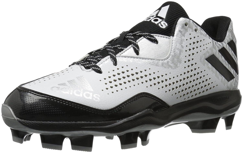 adidas メンズ B01JQXZAHY 13.5 D(M) US|White/Black/Silver Metallic White/Black/Silver Metallic 13.5 D(M) US