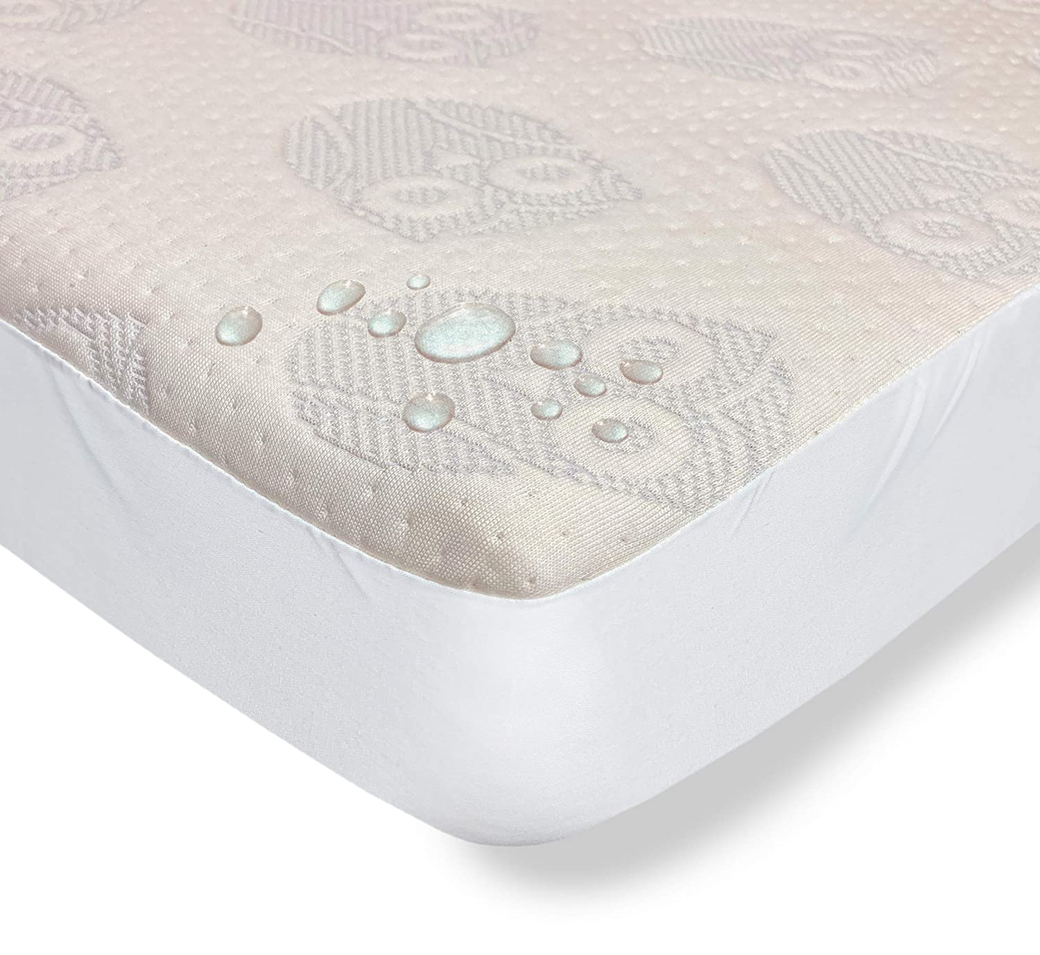 Elastic Edges Eco Cover Cute Owl Pattern Stain-Resistant Fitted Waterproof Colgate Mattress Organic Cotton Crib Mattress Cover by