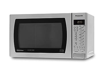 panasonic nn ct579sslimline combination microwave oven stainless rh amazon co uk Panasonic Microwave Parts Manual Panasonic Genius Inverter Microwave