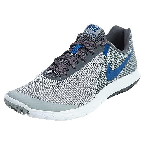 entregar Nacional Elegancia  Buy Nike Men's Flex Experience Rn 6 W.Gry/Gym Blue-D.Gry-Wht Running  Shoes-6 UK (39 EU)(6.5 US) (881802-013) at Amazon.in