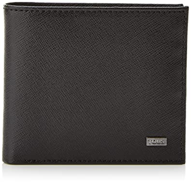 Tous Cartera de hombre Berlin, Mens Wallet, Black (Negro)