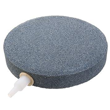 Sorliva - Piedra de aire para acuario, pecera, hidropónica, bomba de 120 mm, difusor de piedras de aire de cerámica: Amazon.es: Bricolaje y herramientas