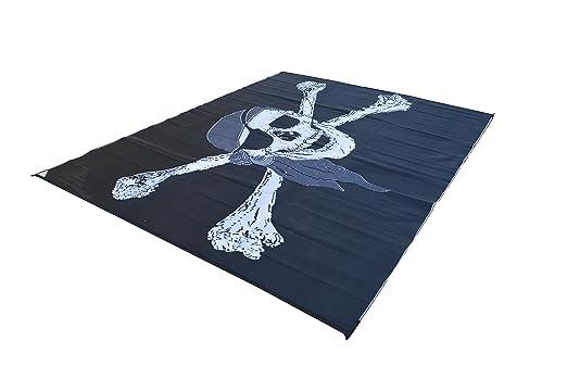 Amazon.com: RV Patio Mat Awning Trailer Mat Pirate Flag 9x12: Automotive - Amazon.com: RV Patio Mat Awning Trailer Mat Pirate Flag 9x12