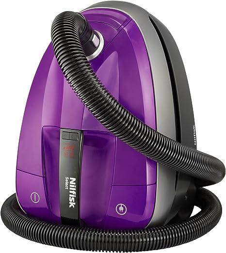 Nilfisk Select Comfort Aspirador de trineo, 220-230 V, con bolsa, 300 W, 2.7 litros, 69 Decibelios, Baya: Amazon.es: Hogar