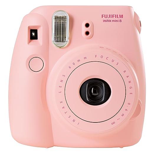 769 opinioni per Fujifilm Instax Mini 8 Fotocamera Istantanea per Foto Formato 62x46 mm, Rosa
