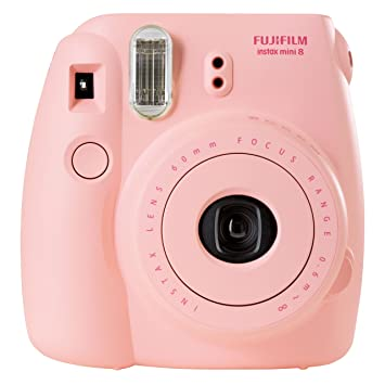 Amazon Fujifilm Instax Mini 8 Instant Camera Pink Discontinued By Manufacturer Polaroid Photo