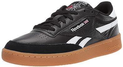 Reebok Men s Revenge Plus Gum Sneaker Black White c7845e321