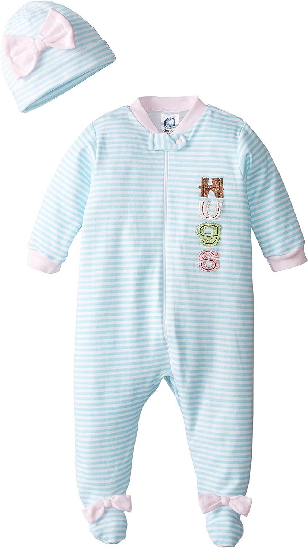 Gerber Baby-Girls Newborn 2 Piece Take Me Home Set Sleep N Play and Cap Set