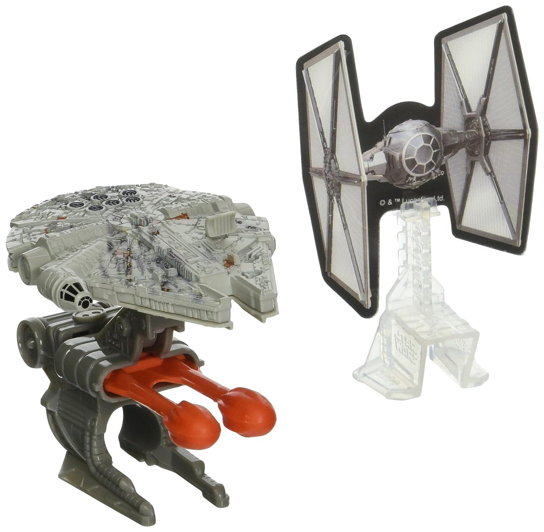 Hot Wheels Star Wars Blast Attack Millennium Falcon Vehicle CMP59