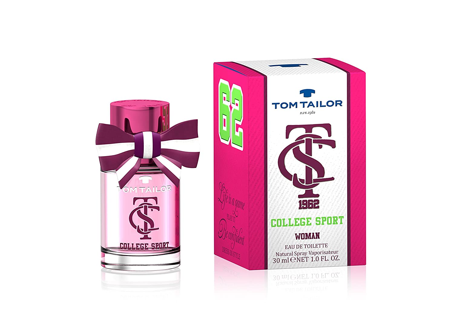 neuesten Stil Schönheit neuartiger Stil TOM TAILOR College Sport for Women EDT 30 ml: Amazon.co.uk ...